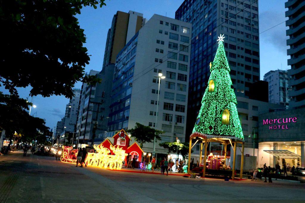 Papai Noel na Praça Tamandaré
